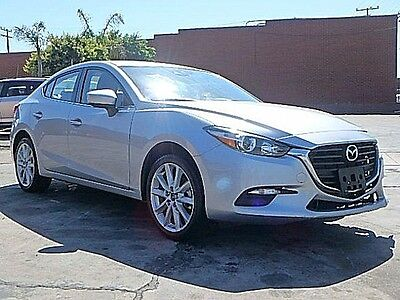2017 Mazda Mazda3 Touring 2017 Mazda Mazda3 Touring Damaged Clean Title Gas Saver Only 12K Mi Nice Project