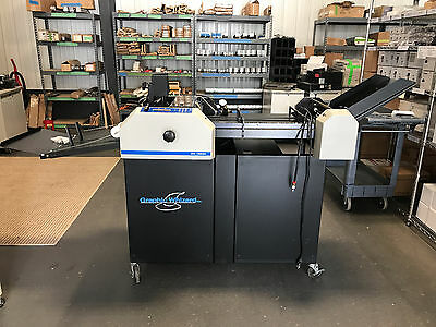Graphic Whizard 12000 Numbering, Perforating & Scoring Machine - Fully-Serviced