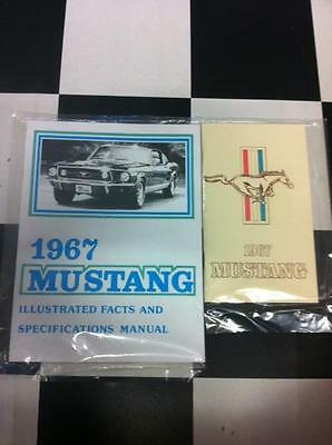 Betriebsanleitung & Daten Buch 1967 Ford Mustang Coupe, Cabrio, Fastback