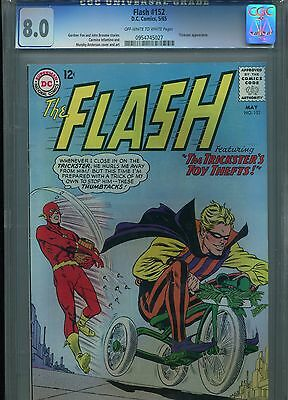 Flash #152 Dc Comic 5/65 Off-White To White Pages Cgc 8.0 Trickster Appearance