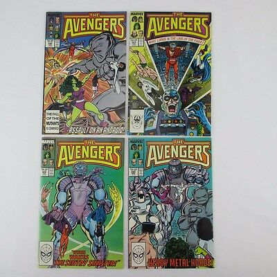 Marvel Comics AVENGERS Issues 286-289 NM Vintage 1980's Copper Age Lot of 4