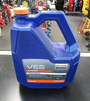 Polaris 2877883 VES 1 Gallon Full Synthetic 2-Cycle Oil FREE SHIPPING!