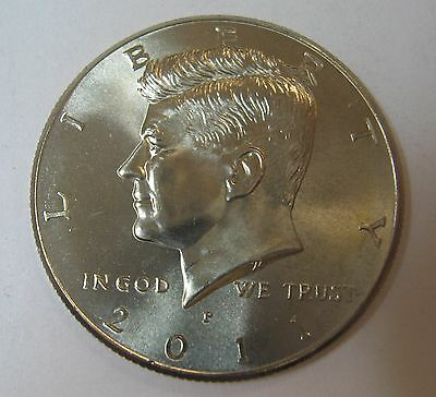 2011-P John F Kennedy Clad Half Dollar Choice BU Condition From Mint Set  DUTCH