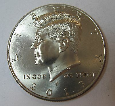 2013-P John F Kennedy Clad Half Dollar Choice BU Condition From Mint Set  DUTCH