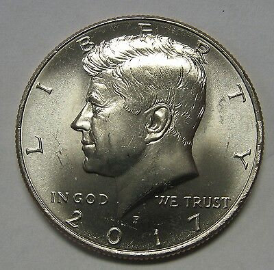 2017-P John F Kennedy Clad Half Dollar Choice BU Condition From Mint Set  DUTCH
