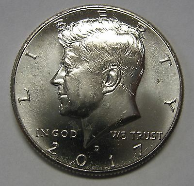 2017-D John F Kennedy Clad Half Dollar Choice BU Condition From Mint Set  DUTCH