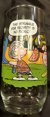 McDonalds Camp Snoopy Collection Peanuts Character Glass