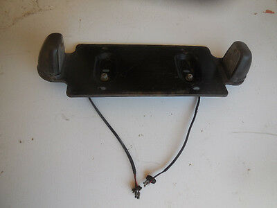 Mg Midget License Plate Mount, Lights And Factory Spacers