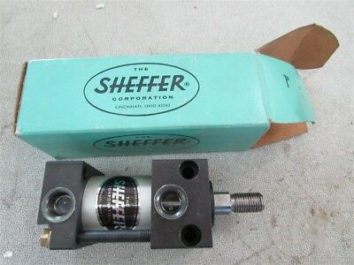 "New Sheffer CLHD 1/2 Air Cylinder 1/2"" Rod with 1/2"" Stroke D-4"