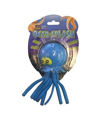 Club Earth Octo-Splash Pool Toy Water Bomb Splash Ball Green Octopus Throw OCSP
