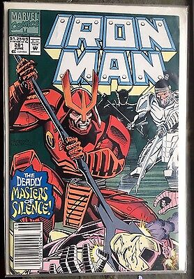 IRON MAN (1992) #281 - Marvel Comics - 1st App of War Machine Armor - 1st Print