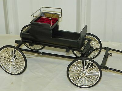 Vintage Style Horse Drawn Hand Crafted Fine Harness Cart Buggy for Models ~ R