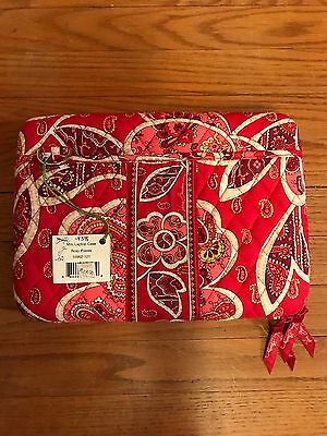 NWT Vera Bradley Mini Laptop/Tablet Hard Case Rosy Posies