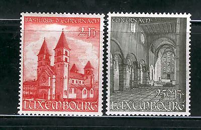 Luxembourg  1953  St. Wilibrord Basilica, MNH.