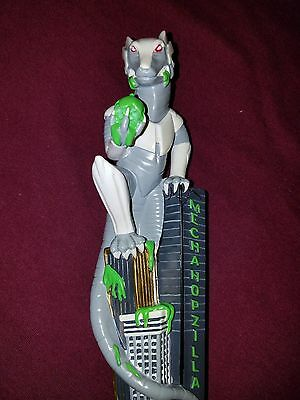 New NOLA Mechahopzilla Tap Handle, RARE, Discontinued Mardi Gras Mecha Hopzilla!