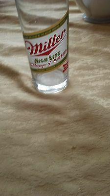 Vintage Miller High Life Beer Glass - No Scratches or Cracks