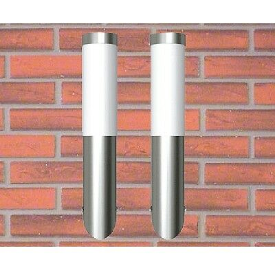 S# 2pc Wall Light Fixture Lamp LED Sconce Modern Pathway Outdoor Indoor Industri