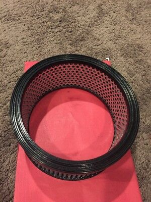"""Round Air Cleaner Element - Univ. 9"""" X 4"""" Molded Heavy Duty Metal Nos"""