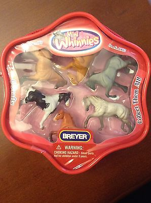 Brand New Breyer Package Of Mini Whinnies 6 Drafts Horse Collection