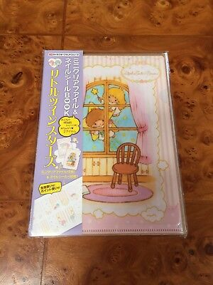 SANRIO Little Twin Stars Nail Wrap and Clear File Holder