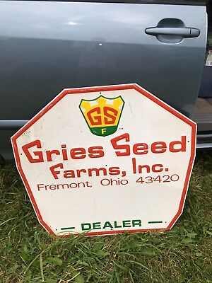 "36"" Gries Seeds Sign"