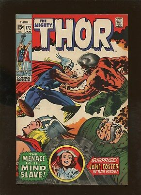 Thor 172 NM 9.4 qualified * 1 Book Lot * 1st Dr. Jim North!!!