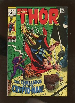 Thor 174 VF 8.0 * 1 Book Lot * 1st Crypto-Man!!!