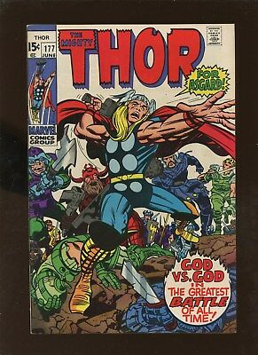 Thor 177 VF 7.5 * 1 Book Lot * 1st Igron the Wizard!!!