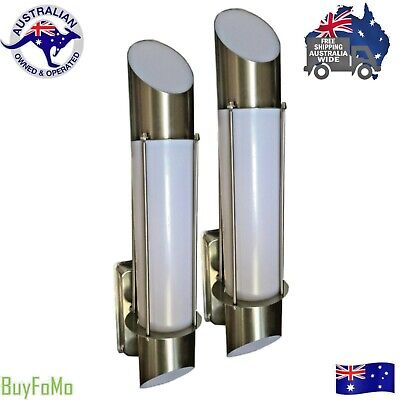LED Modern Stainless Steel External Outdoor House Garden wall light