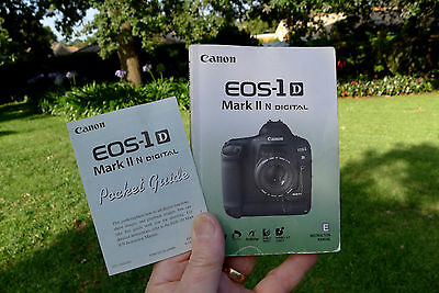 Canon EOS-1D Mk IIn Instruction OEM Manual English 199pages