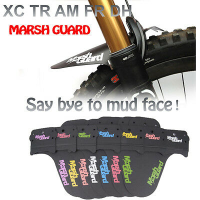 MARSH GUARD Mudguard Fender XC TR AM FR DH w/ Cable Ties