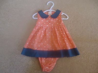 Baby Girls Size 6-12 months Summer Day Dress Suit - BRAND NEW