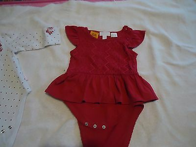 Baby Girls Outfit Suits PUMPKIN PATCH Size 6-12 months Like New