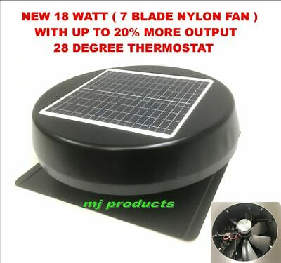solar roof vent / 17 watt solar panel  / solar extractor / roof ventilator ROUND
