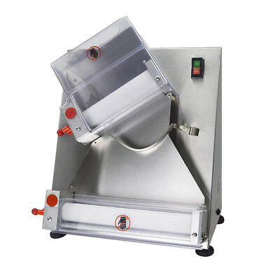 Semi-automatic and electric pizza dough roller/sheeter making machine 15''