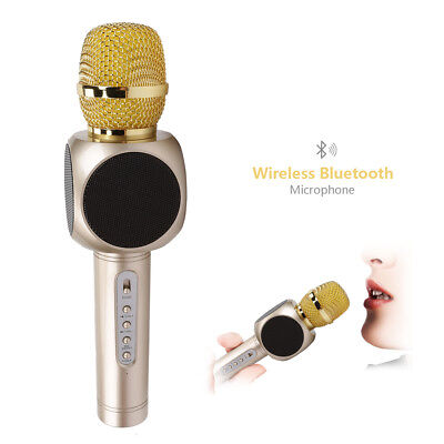 Wireless Micrófono Bluetooth Canto for iPhone Android Home KTV Party Boda