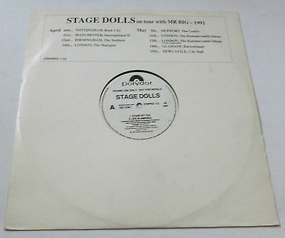 Stage Dolls - Stand by you   UK PROMO 12""