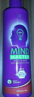 LR Mind Master Brain Performance Drink Red Energy Formula Anti-Stress MHD 8/1017