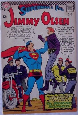 "Jimmy Olsen #91 (1966) ""The Dragon delinquent!"""