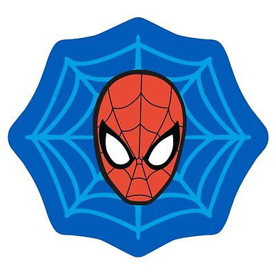 Spiderman Abstract Web Shaped Rug Floor Mat Non-Slip Childrens Kids Bedroom