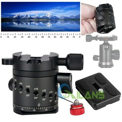 DH-55 Panoramic Indexing Rotator Tripod Head With Quick Release Plate & Clamp