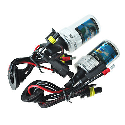 2X 6000K H7 35w HID Replacement Xenon Car Head Bulbs Light Lamp 12v UK DP CS