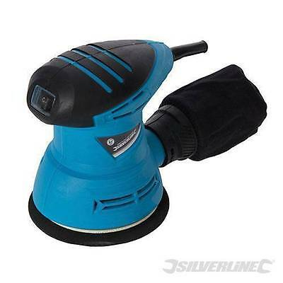 Silverline 125Mm 240W Electric Orbit Random Orbital Sander Palm Sander New