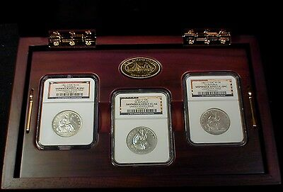 1861-O Liberty Seated Half NGC Certified SS-Republic Shipwreck 3 Coin Set