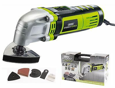 Draper 400W Multi Function Oscillating Sander Scraper Cutter Tool 16061 New
