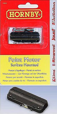 New Hornby R8243 Surface Mount Points, Turnouts Motor Suit Dcc & Dc Systems