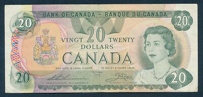 Canada: 1979 $20 QEII Portrait Sig. Thiessen-Crow. Pick 93c, AFFORDABLE EXAMPLE