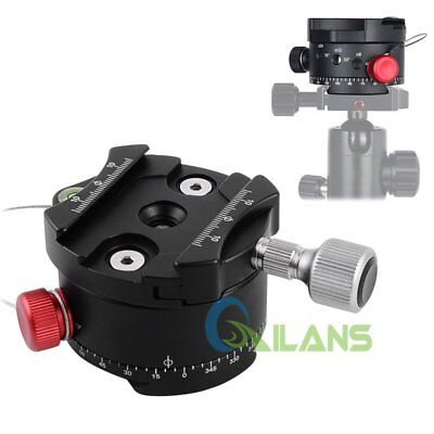 "60mm Panoramic Indexing Rotator With 1/4"" Mounting Screw & 3/8"" Thread DH-60【AU】"