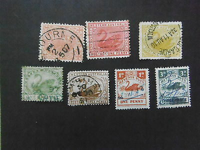 7 Swans fine used see scans