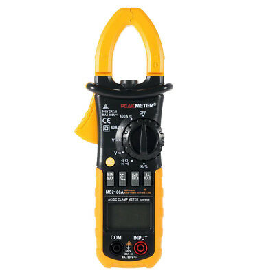 MS2108A Digital Clamp Meter AC/DC AMP Volt Resistance Capacitance Test LS CS